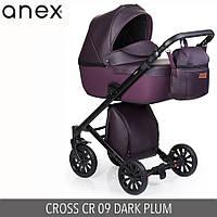 Детская универсальная коляска 2 в 1 Anex Cross 2017 Cr (09) Dark Plum