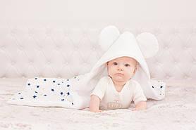 "Конверт одеяло ""Микки Маус"" белый"