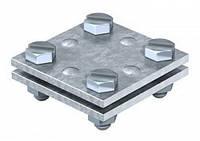 Крестовый соединитель DIN для плоских проводников 30 мм OBO Bettermann