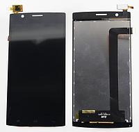 Оригинальный дисплей (модуль) + тачскрин (сенсор) для Fly FS501 Nimbus 3 (черный цвет)