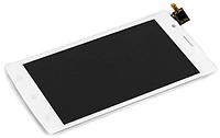Оригинальный дисплей (модуль) + тачскрин (сенсор) для Fly FS501 Nimbus 3 (белый цвет)