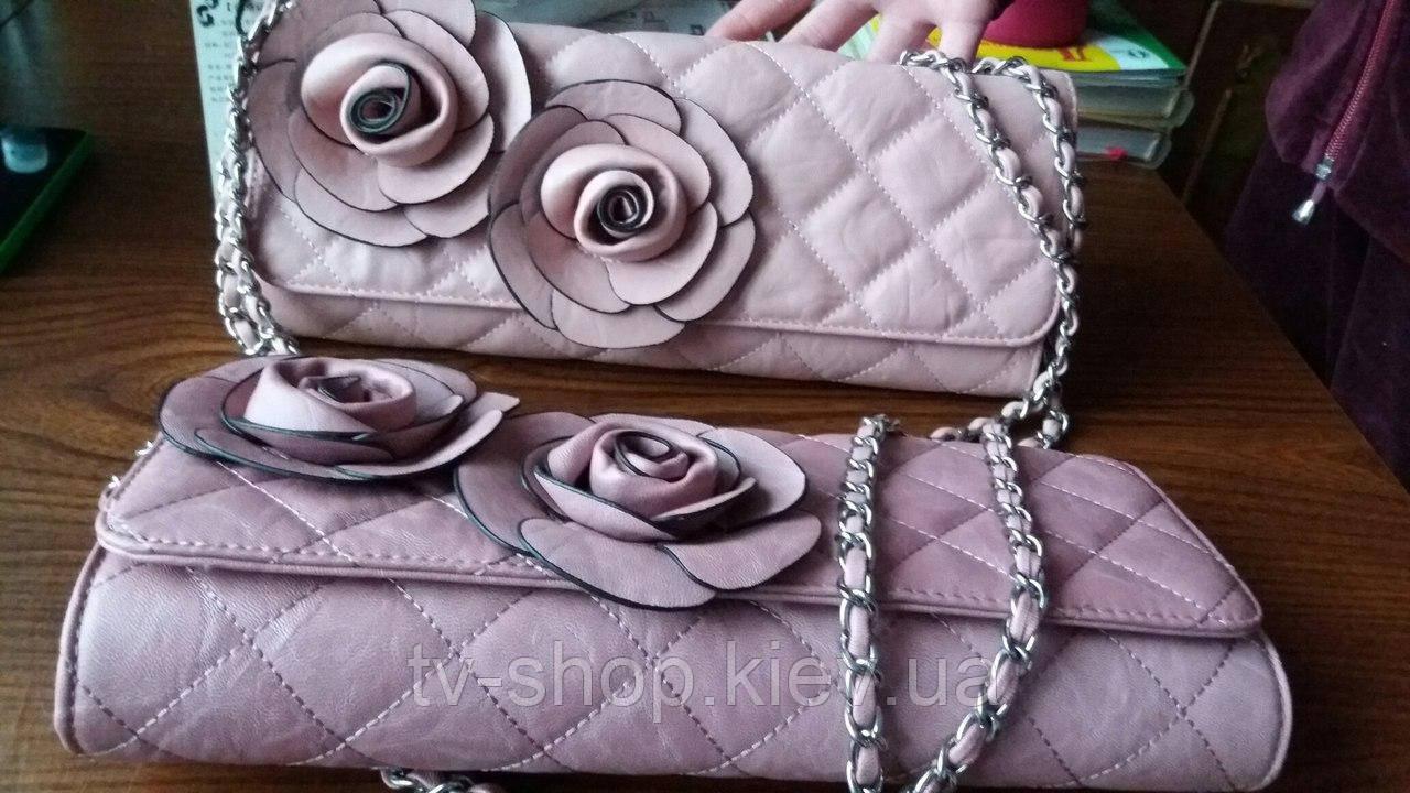 """Клатч """" Розы""""(3 цвета)"""
