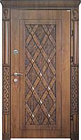Входная дверь для дома (три  контура) модель Челси