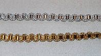 Тесьма декоративная люрекс серебро  6117, фото 1