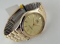 Часы женские Q@Q  классические в золоте, водозащита 5bar, фото 1