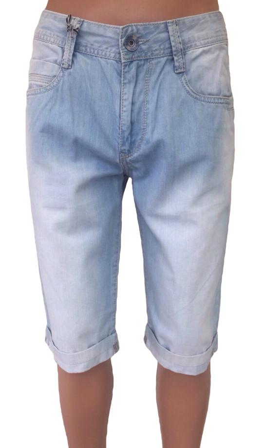 Шорты мужские джинсовые голубого цвета