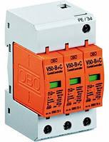 Молниеприемный разрядник и устройство защиты от перенапряжений V50-B+C 3-280 Класс I+II OBO Bettermann