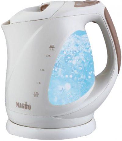 Электрочайник MAGIO МG-117, дисковый, 2,3 л.