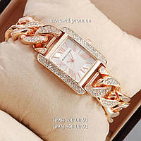 Michael Kors diamond Pink Gold/White