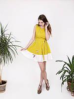 """Платье с вышивкой """"колибри"""" - 983"""