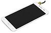 Оригинальный дисплей (модуль) + тачскрин (сенсор) для Fly FS505 Nimbus 7 (белый цвет)