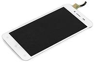 Оригинальный дисплей (модуль) + тачскрин (сенсор) для Fly FS505 Nimbus 7 (белый цвет), фото 1