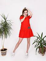 """Воздушное платье с ткани """"лен"""" - 997-1"""
