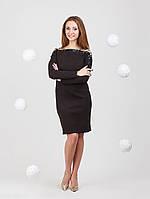 Платье с оголенным плечами - 951