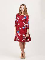Воздушное платье с жемчугом - 946