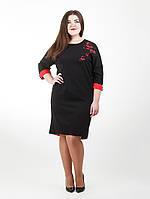 Изысканное платье с вышивкой - 922