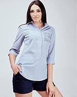 Полосатая женская блуза - 851