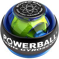 Тренажер для рук power ball, гироскопический шар для тренировки кистей, со светодиодами