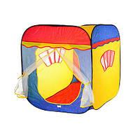 Детская игровая палатка M 1402 Карета 3003 домик, размер 87-88-108 см