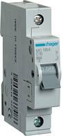 Автоматический выключатель 1P 6kA C-16A 1M Hager MC116A