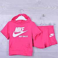 """Костюм детский """"Nike"""" для девочки. 92-116 см рост. Розовый. Оптом."""