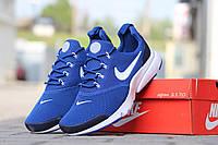 Мужские кроссовки Nike Air Presto Fly Uncaged, синие / бег кроссовки мужские Найк Аир Престо Флай Ункагед