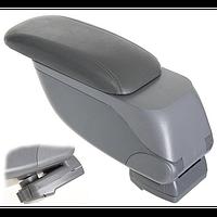 Подлокотник HJ48014/G2 Grey Vitol выдвижной 28*13 см