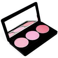 Набор теней для век 3 цвета Beauties Factory Eyeshadow Palette #22 - PINK LOVER, фото 1