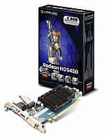 """Видеокарта Sapphire HD 5450 1GB DDR3 64bit """"Over-Stock"""""""