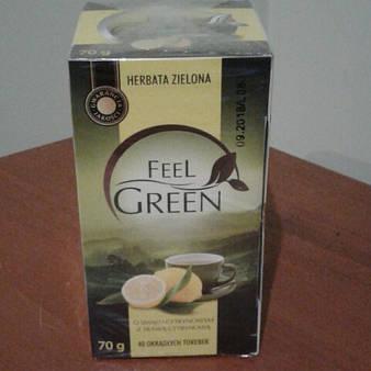 "Чай зеленый ""Feel Green"" лимон 40 пак."