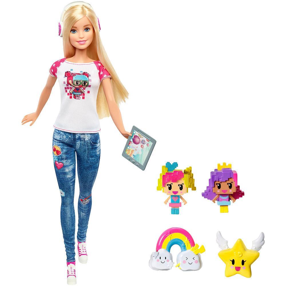Кукла Барби Реальный мир из серии героиня видеоигр Barbie Video Game Hero Doll Playset