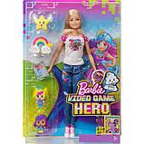 Кукла Барби героиня видеоигр Barbie Video Game Hero Doll Playset, фото 2