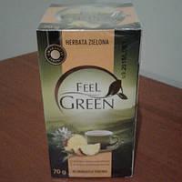 """Чай зеленый """"Feel Green"""" ананас 40 пак."""