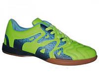 Мужские футбольные кроссовки Demax Green-blue