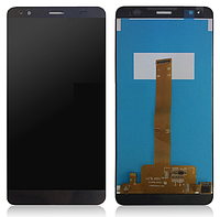 Оригинальный дисплей (модуль) + тачскрин (сенсор) для Fly FS553 Cirrus 9 (черный цвет)