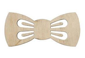 Заготівля Краватка Бант 2 фанера 11*5см 5шт ROSA TALENT