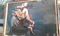 Девушка (папертоль )