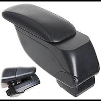 Подлокотник HJ48014/G3 Black Vitol выдвижной 28*13 см