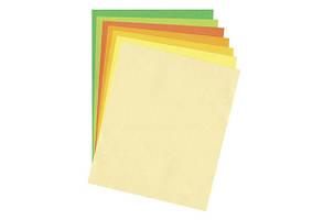 Папір д/дизайну Tintedpaper В2 (50*70см) №11 блідо-жовтий 130г/м, без текстури Folia