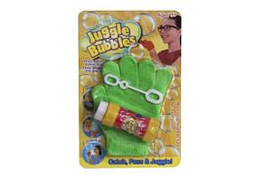 Мыльные пузыри с рукавичкой 23*15см прыгают