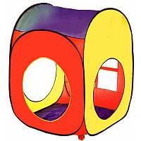 Детская игровая палатка М 1324 (72*72*93 см)