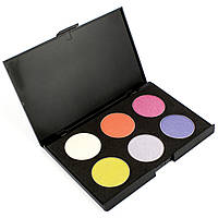 Набор теней для век 6 цветов Beauties Factory Eyeshadow Palette #10 - SHIMMER