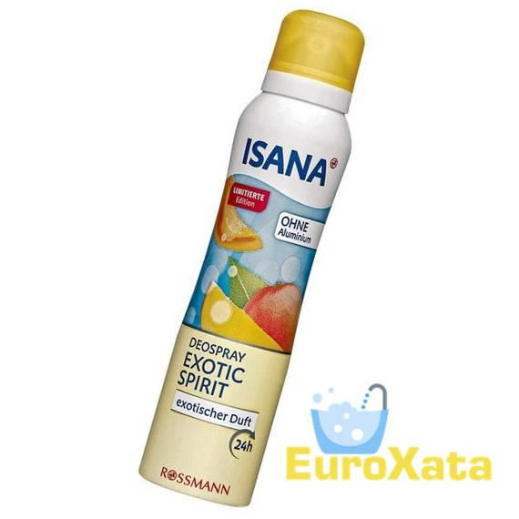 Дезодорант-спрей ISANA Deospray Exotic Spirit  (150мл)