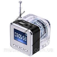 Портативная колонка Nizhi TT-029 - MicroSD, USB, FM, дисплей, эквалайзер