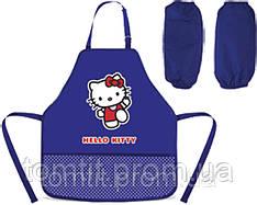Фартук для творчества «Hello Kitty», с нарукавниками, ТМ Kite