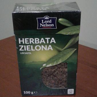 Чай Lord Nelson зеленый 100 грамм