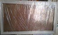 Белая рама  62,5 х 32  см со стеклом