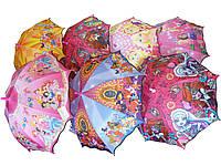 Зонт детский трость для девочек