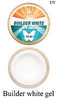 Моделирующий 3-фазный гель F.O.X Builder gel UV (белый)15 мл