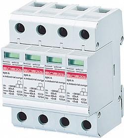 Разрядник перенапряжения e.industrial.surge.spc.s.20.385.4 - класс С - 4р - 385В